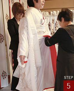 花嫁さんのお仕度